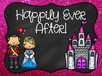 Fairy Tale Behavior Chart (Chalkboard Theme)