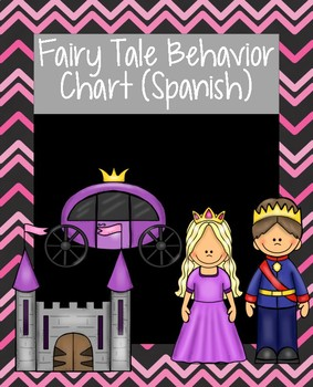 Fairy Tale Behavior Chart (Spanish)