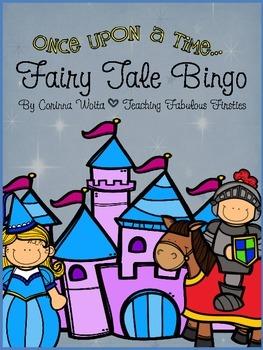 Fairy Tale Bingo Game: Quick and Easy Fairy Tale Fun FREEBIE!