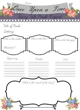 Fairy Tale Book Report