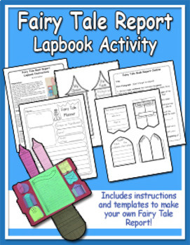 Fairy Tale Book Report & Lapbook Activity