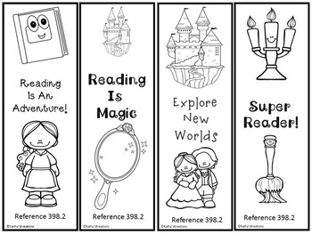 Fairy Tale Bookmarks -FREE