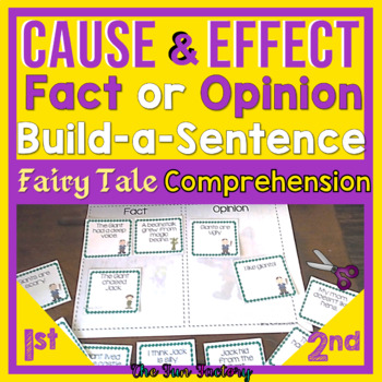 Cause and Effect, Fact or Opinion Fairy Tale  Gr. 1- 3
