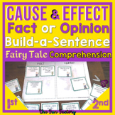 Cause and Effect Fact and Opinion Scrambled Sentences with Fairy Tales