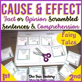 Cause and Effect | Fact or Opinion | Scrambled Sentences w