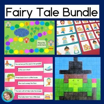 Fairy Tale Bundle: reading, addition, sight words and more!