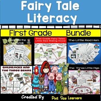 Fairy Tale Bundle First Grade Literacy