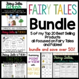 Fairy Tale Bundle: Graphic Organizers, Glyph, Charts, Writing Guide