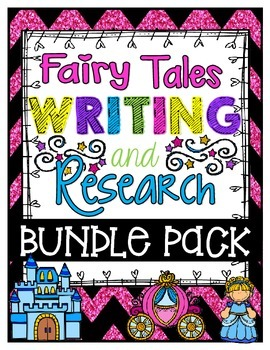 Fairy Tale Writing and Research Bundle Pack!