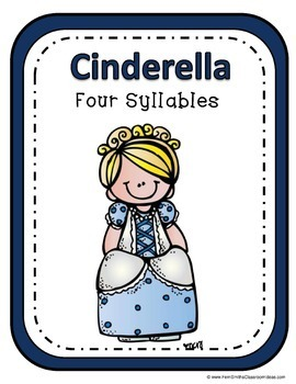 Fairy Tales Syllable Sort Center Games Bundle