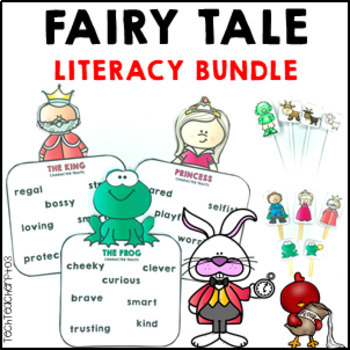 Fairy Tale Bundle reading, comprehension, role play, story retell and masks