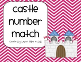 Fairy Tale Castle Number Match-Graphic Organizer