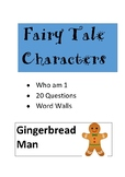 Fairy Tale Character Card Set