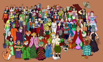 Fairy-Tale Character Clip-Art Pack 1!