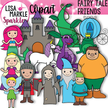 Fairy Tale Character Clipart