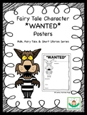 Fairy Tale Character WANTED Posters
