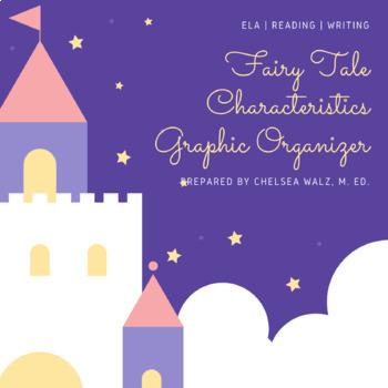 Fairy Tale Characteristics Graphic Oranizer