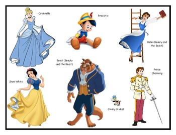 Fairy Tale Characters & Activities