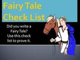 Fairy Tale Check List