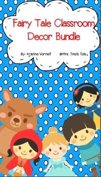 Fairy Tale Classroom Decor Bundle
