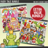 Fairy Tale Clip Art Bundle