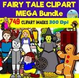 Fairy Tale Clip Art MEGA Bundle - 20 Classic Stories (749 Images)
