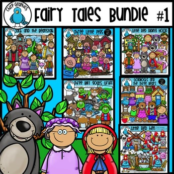 Fairy Tale Clip Art Mega-Bundle - Chirp Graphics