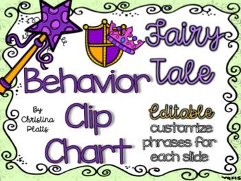 Fairy Tale Clip Chart