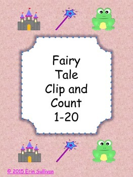 Fairy Tale Clip and Count 1-20