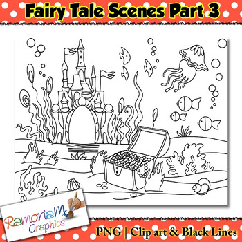 Fairy Tale Clip art Scenes