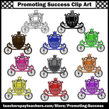 Fairy Tales Carriage Clip Art SPS