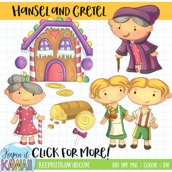 Fairy Tale Collection Clip Art (Growing Bundle)