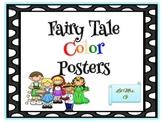 Fairy Tale Color Posters