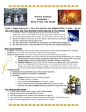 Fairy Tale Common Core Original Parody Writing: Synthesis Activity