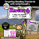 Digital Fairy Tale Flipbook Rapunzel Distanced Learning 3r