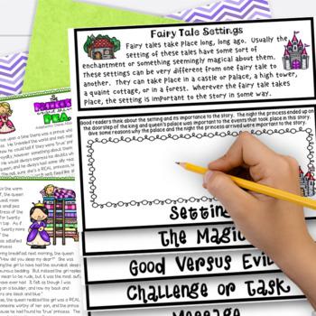 Fairy Tales 3rd Grade 4th Grade The Princess & the Pea RL3.2 RL3.3 RL4.2 RL4.3