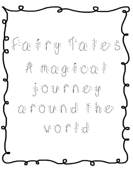 Fairy Tale Common Core Unit