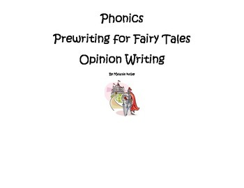 Fairy Tale Compare and Opinion Writing