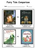 Fairy Tale Comparison Unit: Cinderella