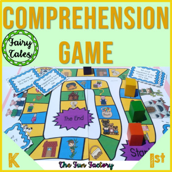 Comprehension Game, 1st-3rd Grades {Fairy Tales}