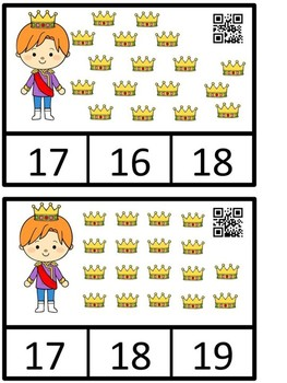 Fairy Tale Count And Clip 1-20