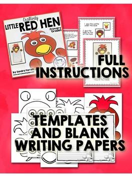 Fairy Tale Craftivity - Little Red Hen
