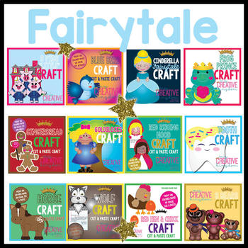 Fairy Tale Crafts Mega Bundle
