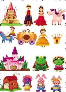 Fairy Tale Creative Writing Cloze with Pictures