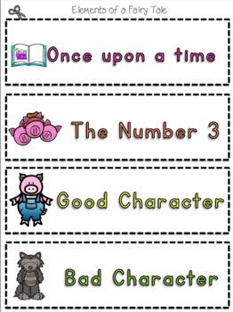 Creative Writing Unit: Fairy Tale - A Jabber the Reteller Writing Unit