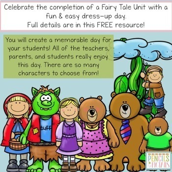 Fairy Tale Day Freebie - Letter to Parents