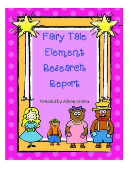 Fairy Tale Element Research Report