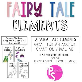 Fairy Tale Elements Visual Aid