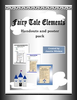 Fairy Tale Elements handouts and posters