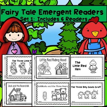 Fairy Tale Emergent Reader Set
